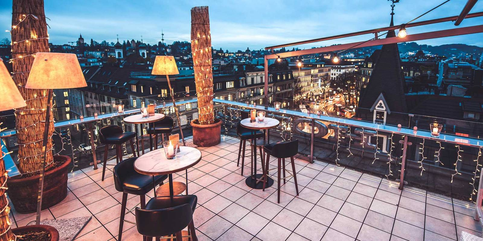 Penthouse Roof Top Bar Lucerne
