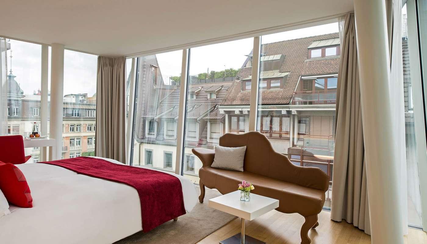 Deluxe design room design hotel lucerne for Design hotel schweiz