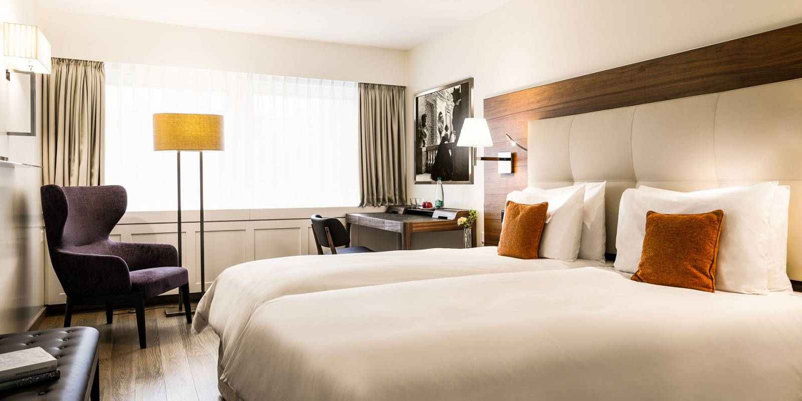 Deluxe Twin rooms hotel Lucerne