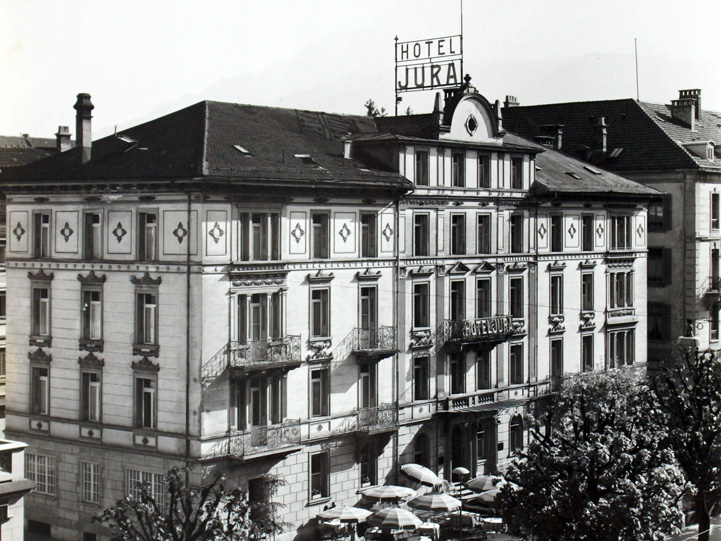 The history of the designhotel hotel astoria in lucerne for Hotel design schweiz